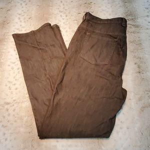 Gloria Vanderilt Amanda Brown Long Inseam Jeans